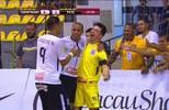 Os gols de Corinthians 4 x 3 Pato pela Liga Nacional de Futsal