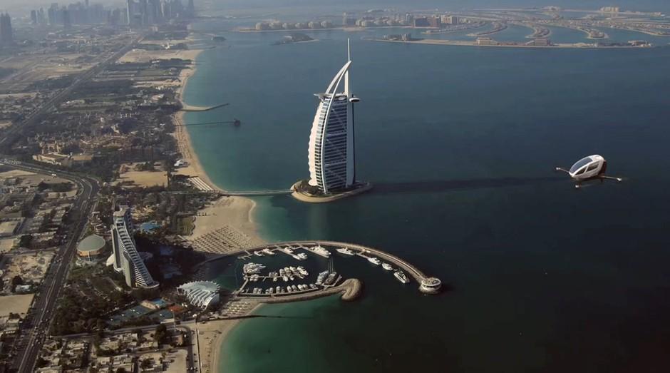 Ehang, Dubai, Drones (Foto: Ehang/Divulgação)