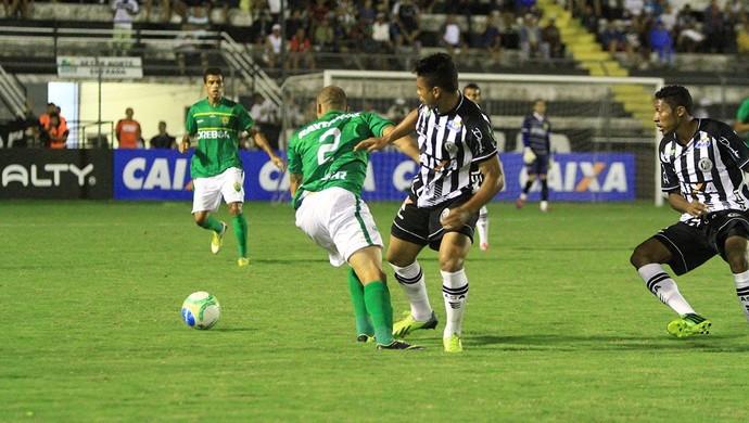 ASA x Cuiabá, em Arapiraca (Foto: Ailton Cruz/ Gazeta de Alagoas)