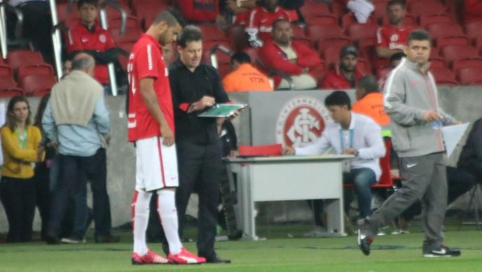 Bruno Baio estreia no Inter (Foto: Diego Guichard)