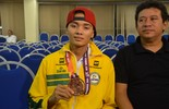 Blog: Mundial de taekwondo tem dois lados para o Brasil: entenda (Gabriel Penha/GE-AP)