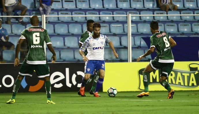 Diego Jardel Avaí x Luverdense (Foto: Jamira Furlani/Avaí FC)
