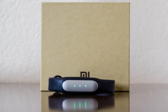 Mi Band, pulseira inteligente da Xiaomi (Foto: Alessandro Junior/TechTudo)