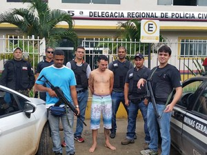 Delegado afirma que suspeito fornecia informações e apoio durante fuga à quadrilha. (Foto: Divulgação/Polícia Civil)