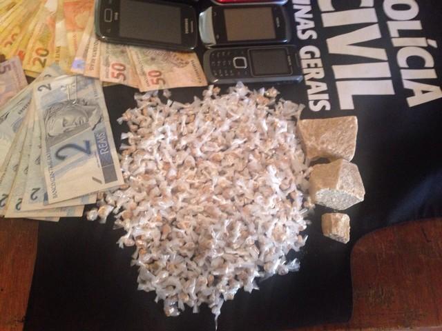 Polícia estima que droga apreendida renderia até R$ 10 mil (Foto: Hamilton Amorim/Arquivo Pessoal)