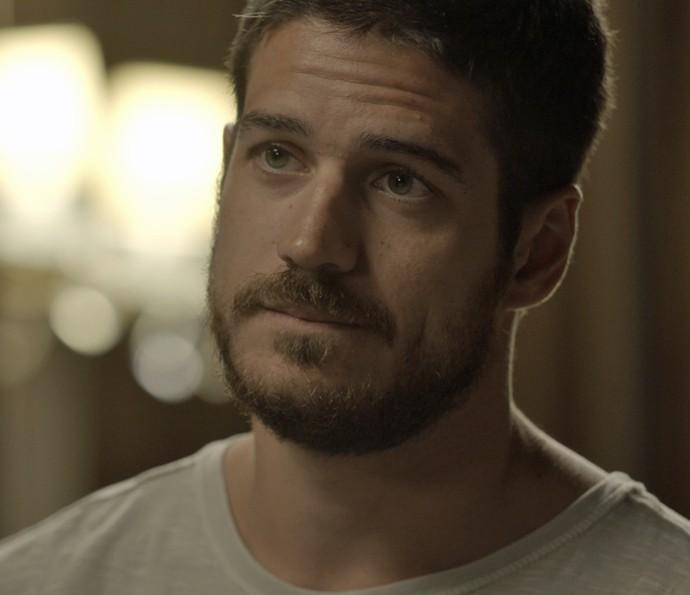 Dante fala sobre suas suspeitas (Foto: TV Globo)