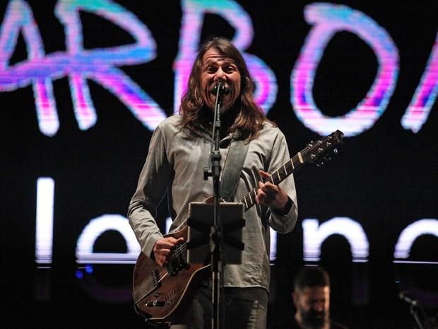 VIRADA CULTURAL - Domingo (1h15) - Cantor Lenine se apresenta no Palco Júlio Prestes, no Centro de São Paulo (Foto: Fábio Tito/G1)