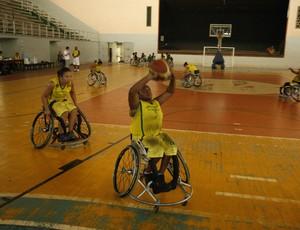 Basquete Paraolimpico (Foto: Marcelo Seabra/O Liberal)