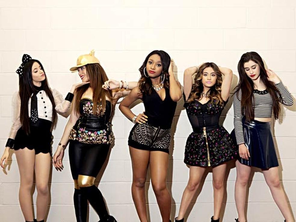 O grupo musical Fifth Harmony em sua formação original (Foto: Divulgação)