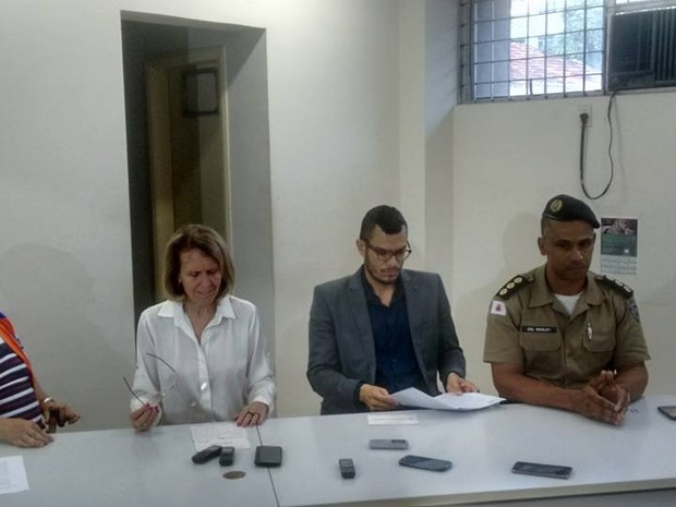 Elisa Costa decretou estado de calamidade no fim da tarde desta terça-feira, em Valadares (Foto: Diego Souza/G1)