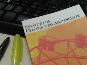 Estatuto da Criança e do Adolescente (Foto: Aline Oliveira / G1)