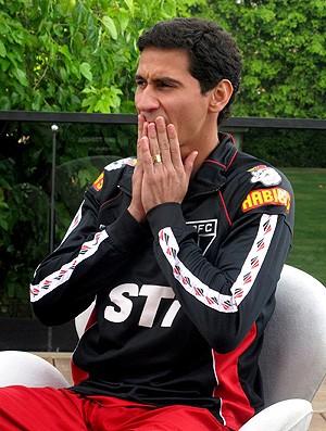 Ganso São Paulo entrevista  (Foto: Marcelo Prado)