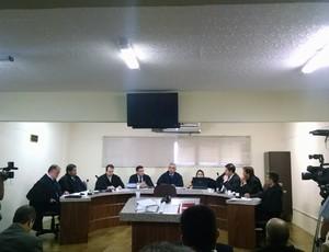 Julgamento Fortaleza (Foto: Juscelino Filho)
