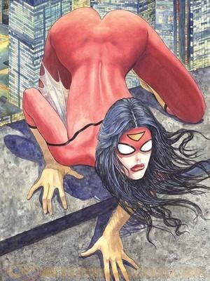 A capa de Manara - a heroína sensual desagradou fãs e levantou uma discussão sobre como as mulheres são retratadas nos quadrinhos (Foto: Divulgação/ Marvel )