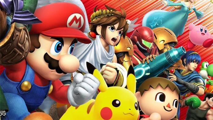 Personagens da Nintendo e convidados lutam entre si em Super Smash Bros (Foto: Divulgação/Nintendo)