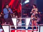 Nayra Costa e Marquinho OSócio fazem Batalha com música de Lulu Santos. Veja fotos exclusivas!