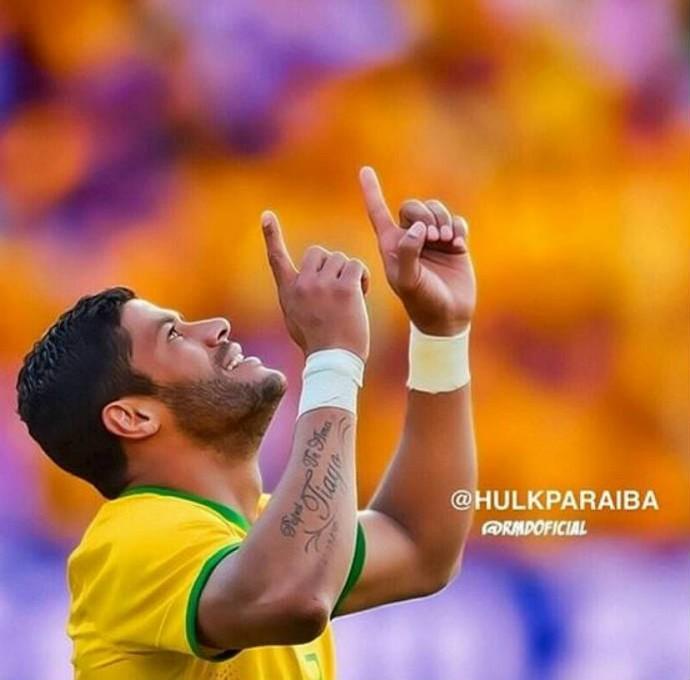 Hulk fala em pensamento positivo (Foto: Reprodução)