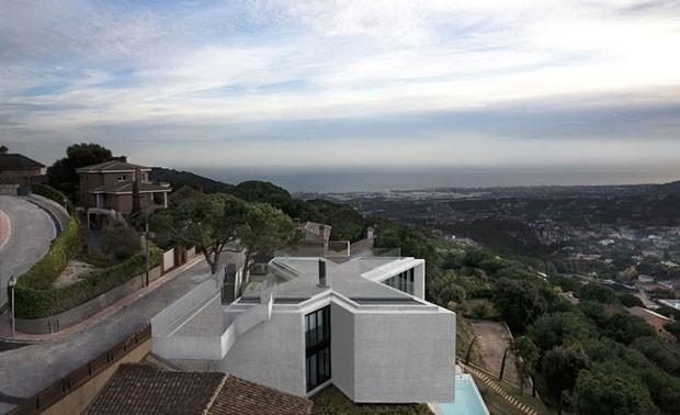 Um X Marcado No Alto Da Montanha Casa Vogue Arquitetura