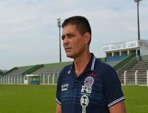 Cláudio Correia, presidente do Ariquemes FC (Foto: Eliete Marques/GLOBOESPORTE.COM)