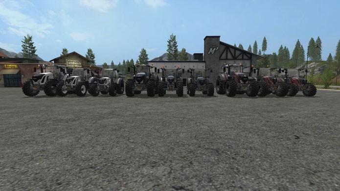 Customize seus veículos com o mod FS17 Fendt Pack pickcolor (Foto: Reprodução/Farming Simulator 15 Mods)