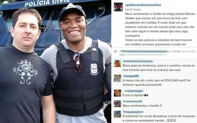 Anderson Silva Instagram (Foto: Reprodução/ Instagram)