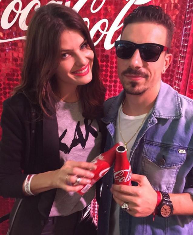 Isabeli Fontana e o amado (Foto: Instagram/Reprodução)