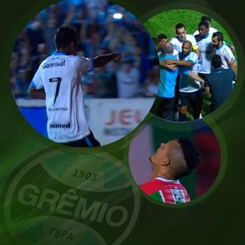 chamada carrossel pacotão carrossel do Grêmio-mg (Foto: Editoria de Arte)