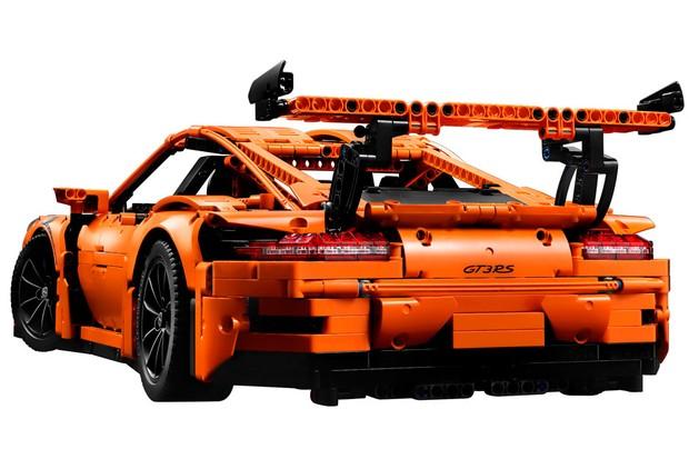 Porsche 911 GT3 RS da Lego é o mais caro da linha Technic lá fora (Foto: Divulgação)