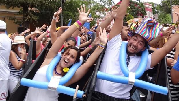 FOTOS: O domingo de carnaval, em Olinda (Manoel Filho / G1)