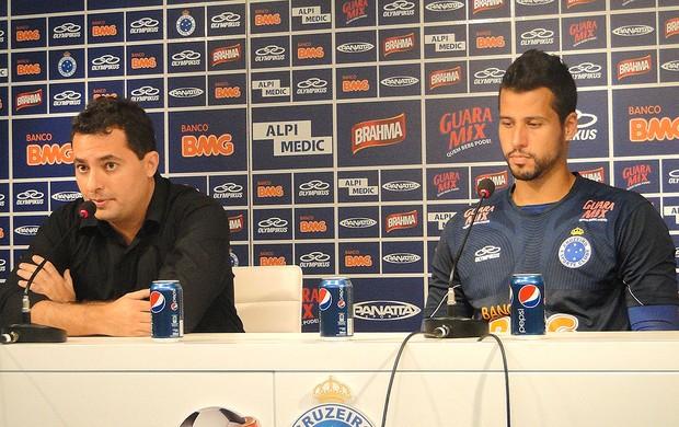 Alexandre Mattos e Fábio, Cruzeiro (Foto: Marco Antônio Astoni / Globoesporte.com)