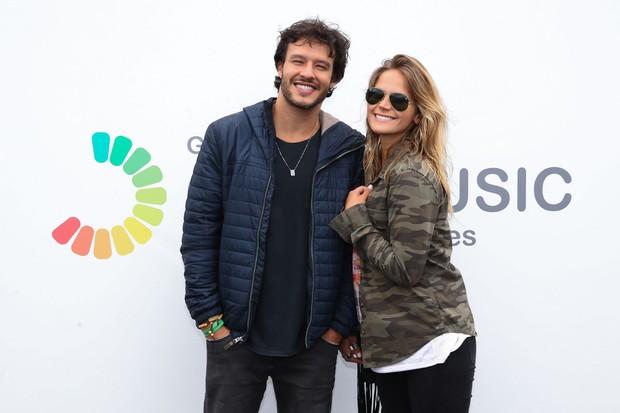 Nando Rodrigues e Yasmin Volpato (Foto: Marcos Ribas e Manuela Scarpa/Brazil News)