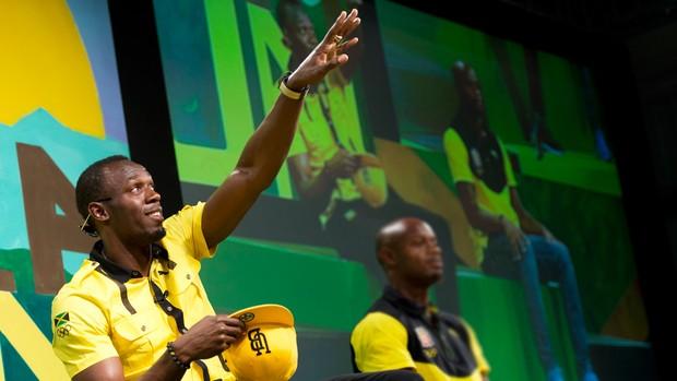 usain bolt londres 2012 olimpiadas (Foto: AFP)