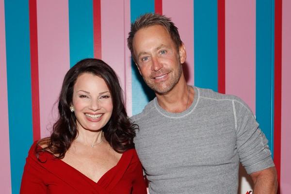 Fran Drescher e Peter Marc Jacobson (Foto: Getty Images)