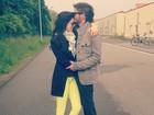 Viagem romântica! Sophia Abrahão posta foto com Fiuk em Berlim