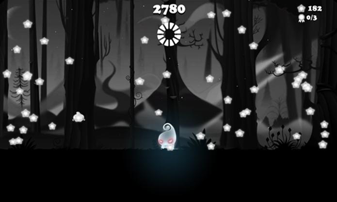 Darklings é um game para Windows Phone no qual usuário deve repetir gestos (Foto: Divulgação/Windows Phone Store)
