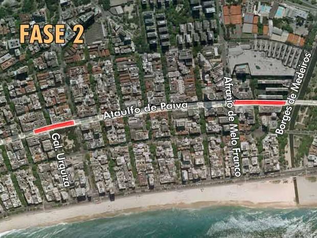 Mapa 5 Ataulfo de Paiva depois (Foto: Editoria de Arte)