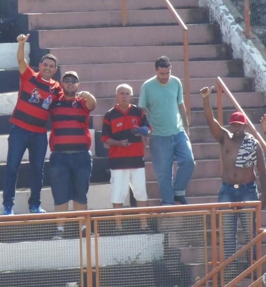 longe de casa (Divulgação/AA Flamengo)