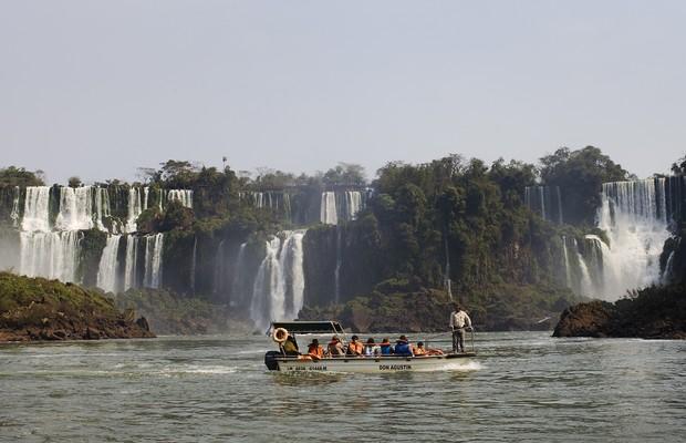 Parque Nacional do Iguaçu, a unidade de conservação mais lucrativa do país (Foto: Getty Images)