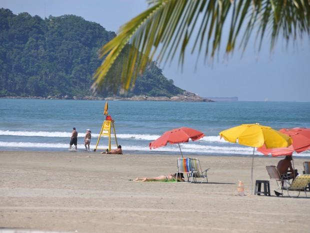 Praia Grande está entre os destinos mais procurados por turistas (Foto: Jairo-Marques/Prefeitura de Praia Grande)