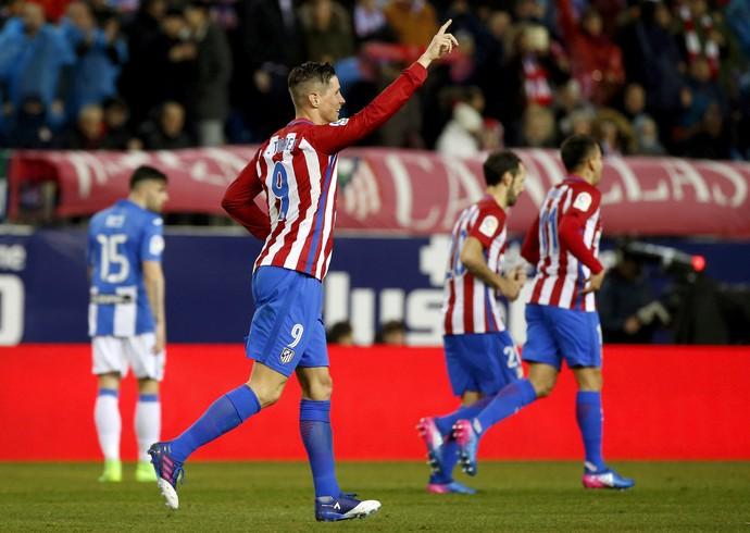 Fernando Torres Atlético de Madrid x Alavés (Foto: EFE/Kiko Huesca)