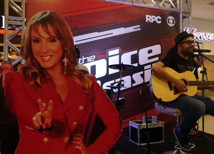 Willian San'Per The Voice Pocket (Foto: Divulgação/ RPC)