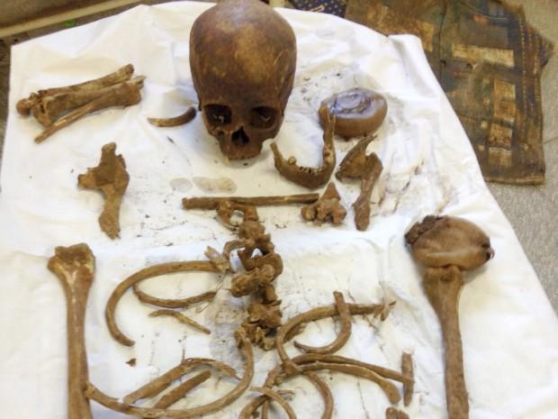 Laudo de exame de DNA em ossada deve sair em 30 dias, diz polícia de MS (Foto: Divulgação/ Polícia Civil MS)