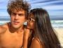 Felipe Roque se declara para Aline Riscado: 'Minha rainha'