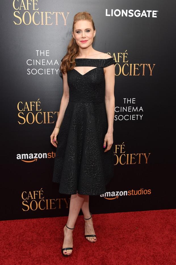 Amy Adams em première de filme em Nova York, nos Estados Unidos (Foto: Jamie McCarthy/ Getty Images/ AFP)