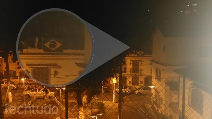 Foto feita durante a noite com o Xperia T2 Ultra Dual (Foto: Isadora Díaz/TechTudo)
