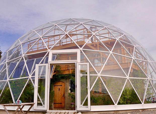 Casa de vidro na Noruega (Foto: Reprodução/In Habitat)