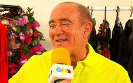 Renato Aragão estrela musical e diverte em entrevista