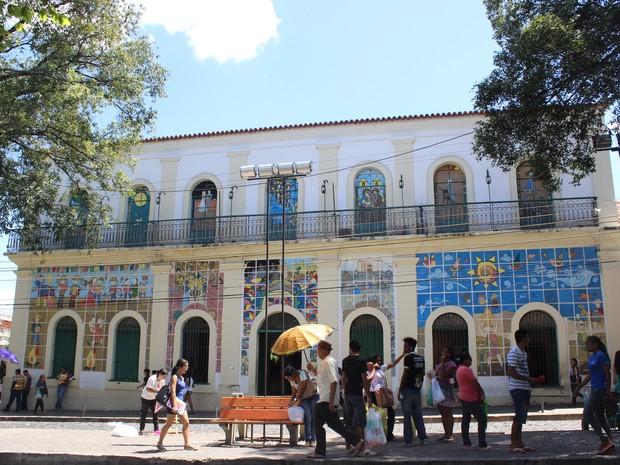 Museu do Piauí - Casa de Odilon Nunes (Foto: Catarina Costa/G1)