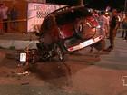 Familiares de jovem morto em acidente na Av. Barão fazem protesto