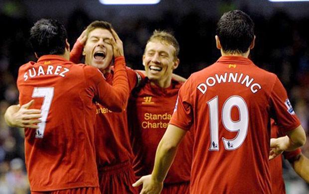 Lucas Leiva, do Liverpool (Foto: Reprodução / Site Oficial do Liverpool)